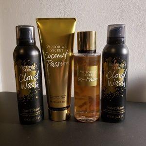 Victoria's Secret coconut passion Fragrance set